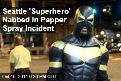 Seattle 'Superhero' Phoenix Jones Arrested in Pepper Spray Incident