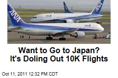 Want to Go to Japan? It's Doling Out 10K Free Flights