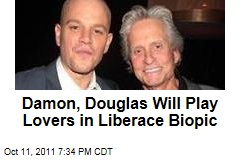Michael Douglas to Play Liberace in HBO Biopic With Matt Damon