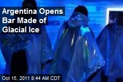 Argentina Opens Bar Made of Glacial Ice