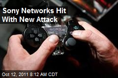 Sony Networks Hit With New Attack
