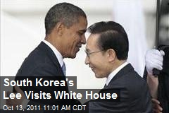 South Korea's Lee Visits White House
