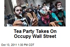 Tea Party Takes On Occupy Wall Street
