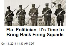 Florida Rep. Brad Drake: It's Time to Bring Back Firing Squads