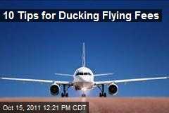10 Tips for Ducking Flying Fees