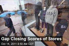 Gap Closing Scores of Stores