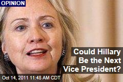 Hillary Clinton Could Replace Joe Biden as Vice-Presidential Nominee: Jonathan Alter