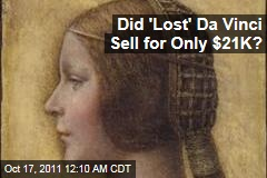 Did 'Lost' Da Vinci Sell for Only $21K?
