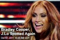 Jennifer Lopez, Bradley Cooper Spotted Together Again