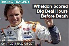 Dan Wheldon Scored Major Andretti Deal Hours Before Death