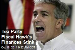 Tea Party Rep. Joe Walsh: Fiscal Hawk's Finances Stink