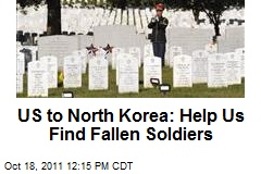 US to North Korea: Help Us Find Fallen Soldiers