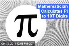 Japanese Math Wiz Shigeru Kondo Calculates Pi to 10T Digits