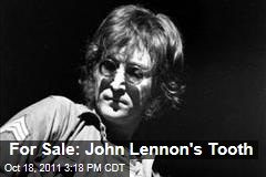 John Lennon's Tooth Going Up for Auction