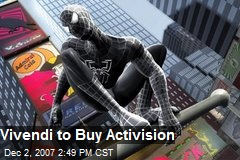 Vivendi to Buy Activision