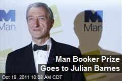 Man Booker Prize Goes to Julian Barnes