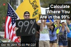 Calculate Where You Are in the 99%