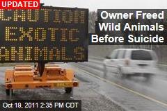 Animal Farm Owner Terry Thompson Deliberately Freed Exotic Animals Before Killing Himself