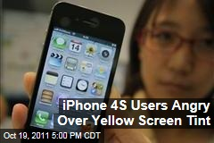 Some Apple iPhone 4S Users Complain About Yellow Tint on Screen