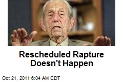 Rescheduled Rapture Doesn't Happen