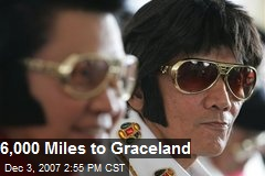 6,000 Miles to Graceland