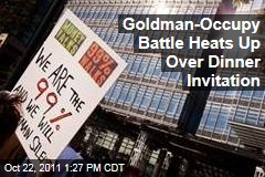 Goldman Sachs Drops Out of Credit Union Dinner Over 'Occupy Wall Street'