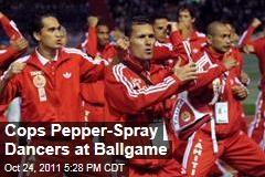 Utah Police Pepper-Spray Polynesian Dancers at Football Game