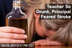 British Kindergarten Teacher Collapses From Drinking Wine at Lunch