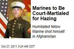 Marines to Be Court-Martialed for Hazing Harry Lew