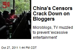 China's Censors Crack Down on Bloggers