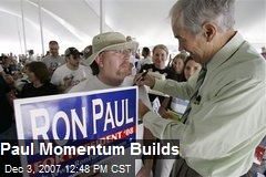 Paul Momentum Builds