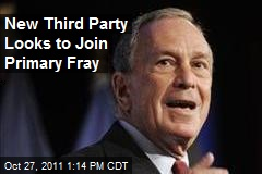 New Third Party Looks to Join Primary Fray