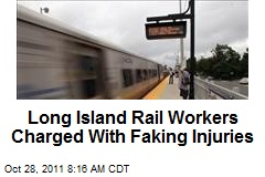 Long Island Rail Workers Charged With Faking Injuries