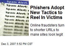 Phishers Adopt New Tactics to Reel In Victims