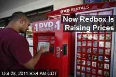 Now Redbox Is Raising Prices