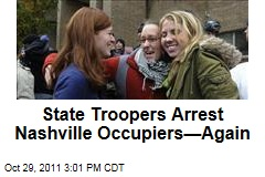 Tennessee State Troopers Arrest Occupy Nashville Protesters