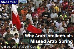 Why Arab Intellectuals Missed Arab Spring