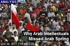 Why Arab Intellectuals Missed Arab Spring