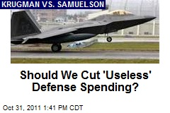 Should We Cut 'Useless' Defense Spending?