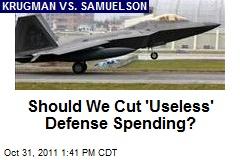 Should We Cut 'Useless' Defense Spending?