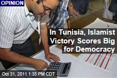Tunisia Islamists Take Huge Step for Democracy: Noah Feldman