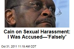 Herman Cain on Sexual Harassment Allegations: I Was Accused— 'Falsely'