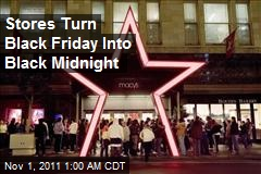 Macy's Opening Midnight on Black Friday