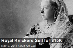 Royal Knickers Sold for $15K