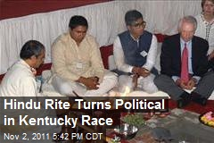 Hindu Rite Turns Political in Kentucky Race