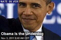 Obama's the Underdog