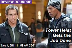 'Tower Heist' Movie Reviews: Film Critics Like Ben Stiller, Eddie Murphy Flick