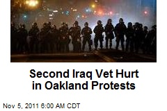 Second Iraq Vet Hurt in Oakland Protests