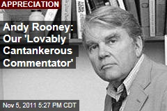 Author and Journalist Andy Rooney Was America's 'Cantankerous Commentator'