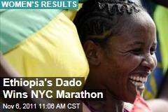 New York City Marathon: Ethiopia's Firehiwot Dado Wins in Great Comeback
